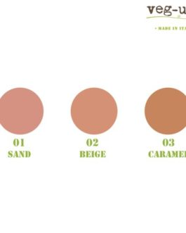 Compact Foundation Veg-Up Cosmetics – Colorazione n°03 CARAMEL