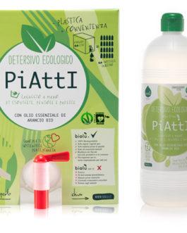 BIOLU DETERSIVO BIOLOGICO ALLA SPINA – PIATTI – 1 litro
