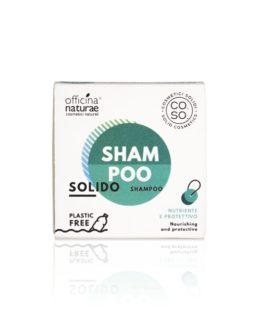 Shampoo Solido Nutriente e Protettivo – Avena e Noce