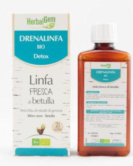 DRENALINFA BIO DETOX da 250 ml – Linfa fresca di betulla arricchita di estratti di gemme