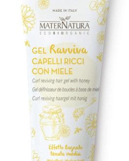 MaterNatura – Gel Ravviva Ricci Capelli con Miele