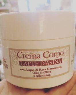 Crema Corpo al Latte d'Asina 200ml