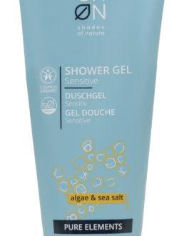 Gel doccia con alghe e sale marino