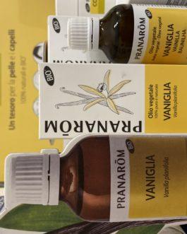 PRANAROM Olio Vegetale di Vaniglia BIO 50 ml