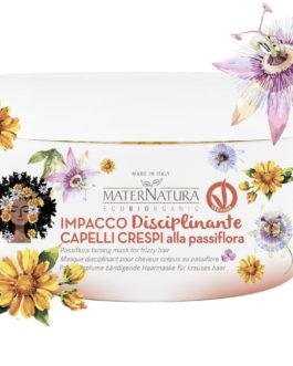 MaterNatura Impacco Capelli Disciplinante alla Passiflora